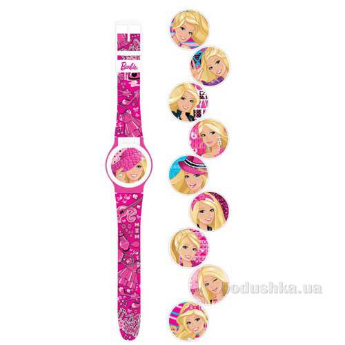 Часы Barbie с набором сменных панелей для циферблата Barbie ВВРРЖ15