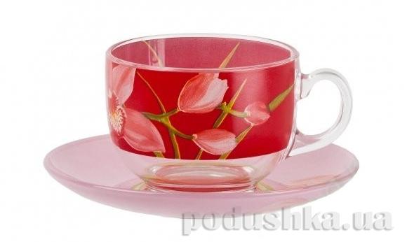 Чайный сервиз Luminarc RED ORHIS 12 предметов