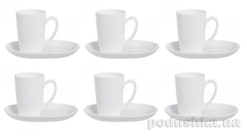 Чайный сервиз Luminarc SWEET LINE White 12 предметов