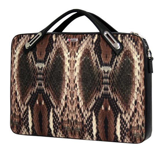 Деловой портфель для женщин Derby 0610171 с орнаментом