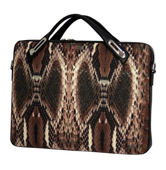 Деловой портфель из микрофибры Derby 0610172 с орнаментом