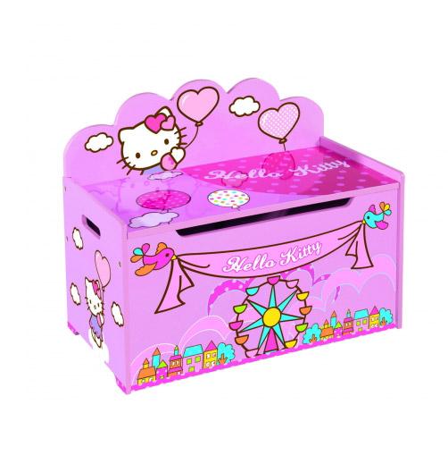 Деревянный ящик для игрушек Hello Kitty Eichhorn 0003134
