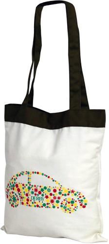 Эко-сумка хлопковая Derby 0501505 с принтом Машинка