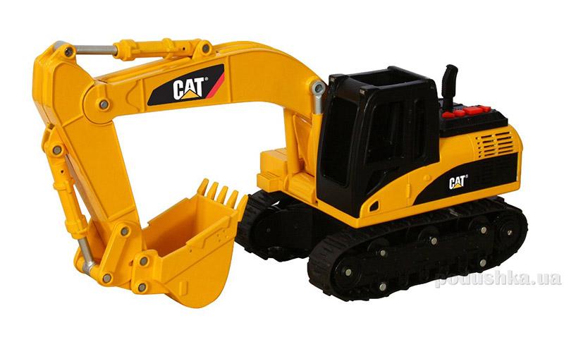 Экскаватор CAT со светом и звуком 33 см Toy State 35644