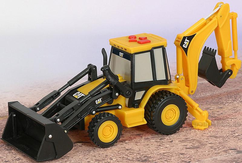 Экскаватор с ковшом CAT 23 см Toy State 34624