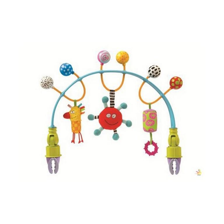 Гибкая дуга для коляски Taf Toys 11485 Цветные шарики