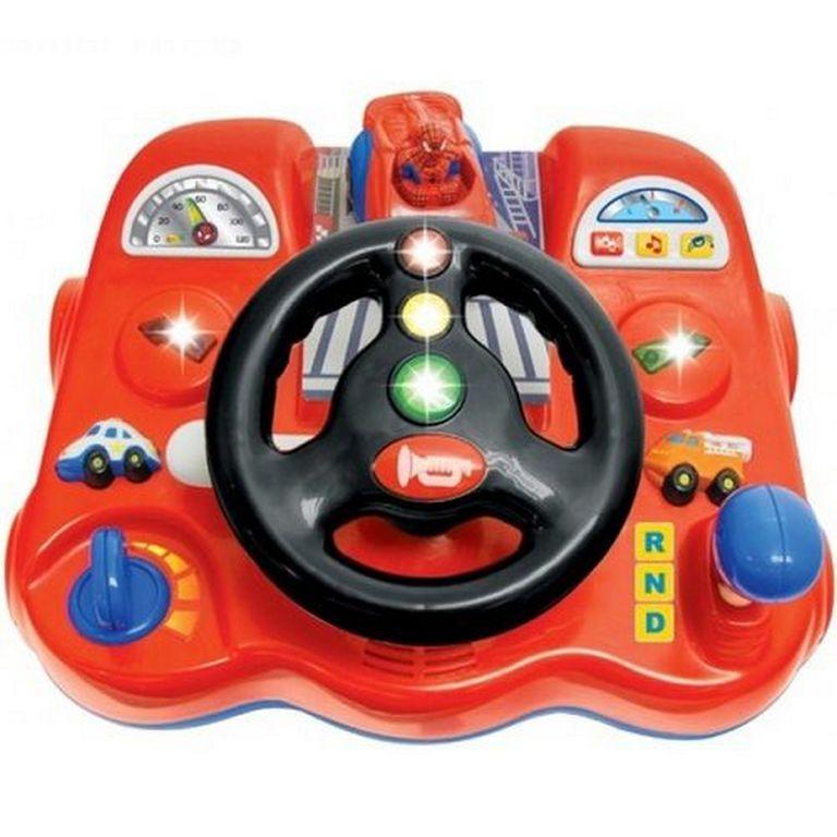 Игровая панель Kiddieland 043331 Спайдермен-водитель