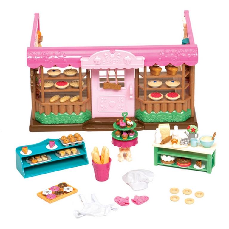 Игровой набор Lil Woodzeez 6088M Пекарня