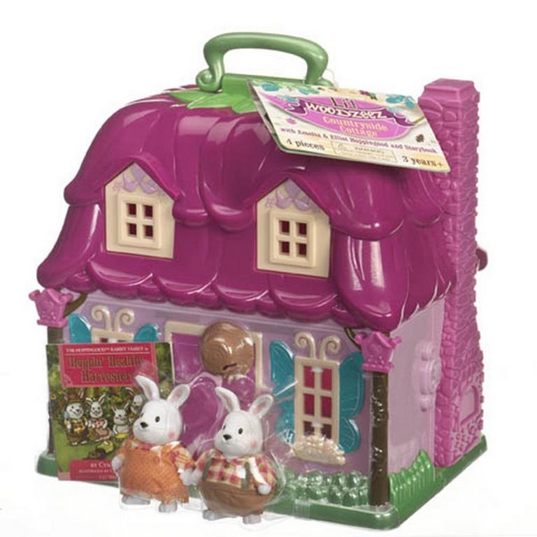 Игровой набор Lil Woodzeez 6103Q Загородный домик