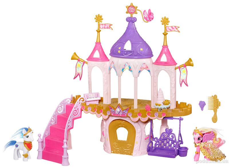 Игровой набор My Little Pony Замок для проведения королевской свадьбы Свадьба нашей пони Hasbro 98734