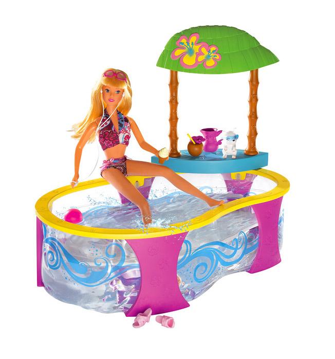 Игровой набор Штеффи вечеринка в бассейне Steffi 5737144