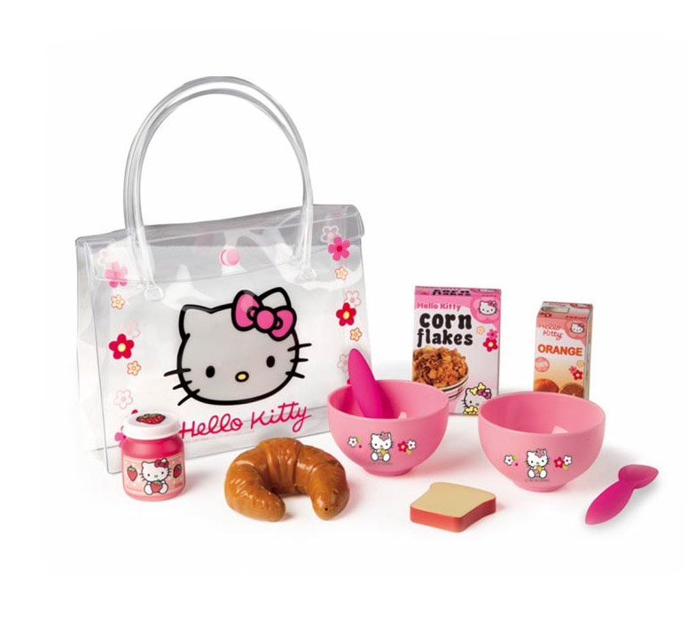 Игровой набор Завтрак Smoby Hello Kitty 024353 в сумочке