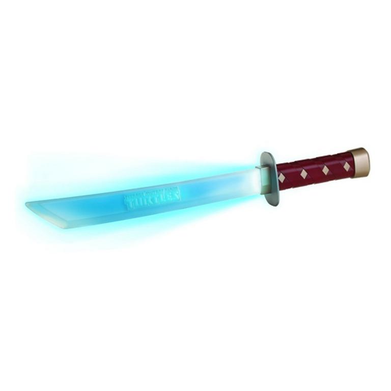 Игрушечное оружие серии Черепашки-Ниндзя TMNT Электронный меч Леонардо 92061
