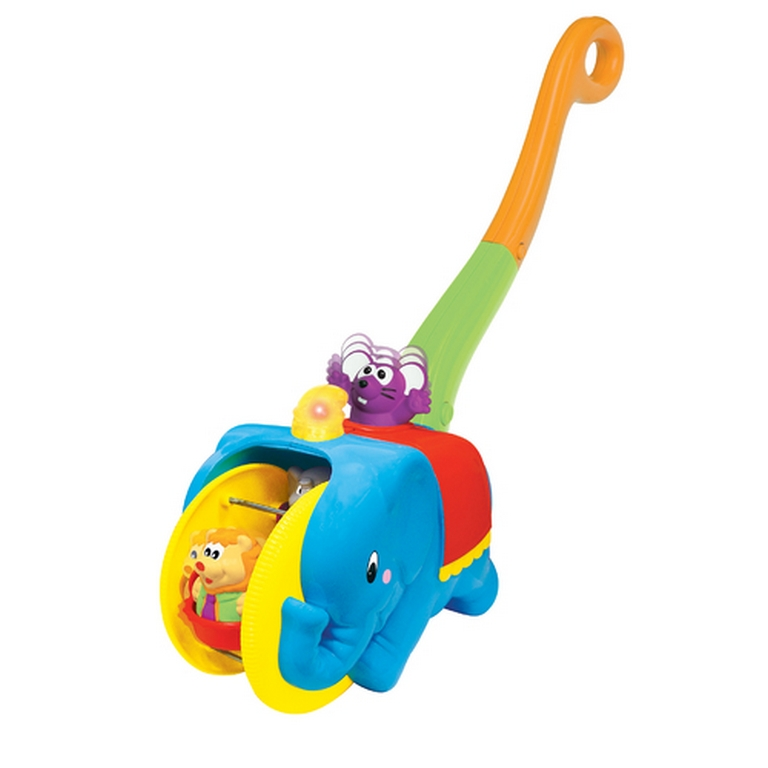 Игрушка-каталка Kiddieland 049759 Слон-циркач