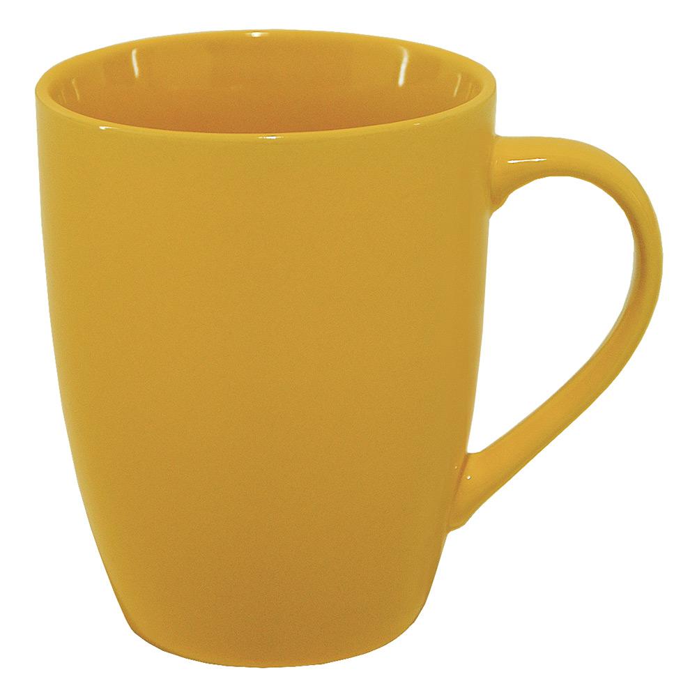 Чашка керамическая МД 375 мл KA00320/2 желтая глянцевая   MД
