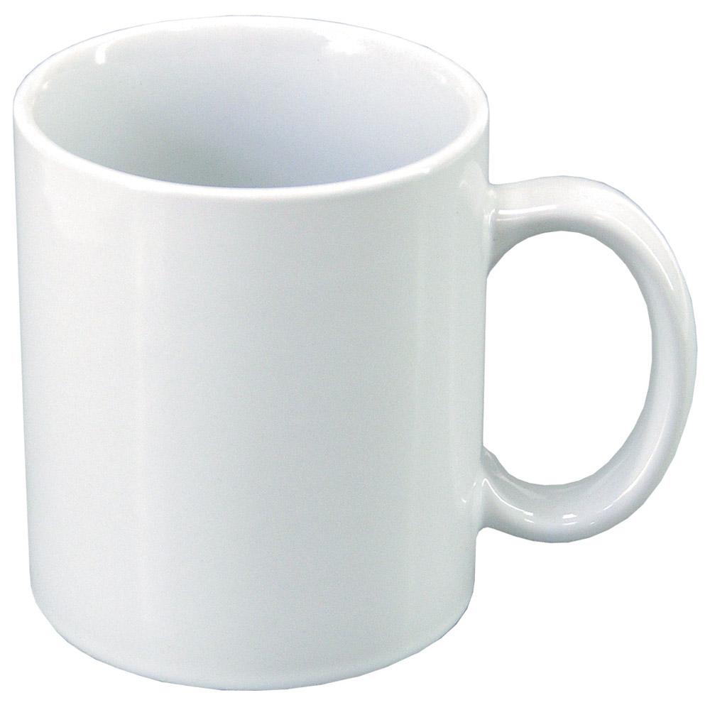 Чашка керамическая МД 350 мл KD400-4/10 белая глянцевая   MД