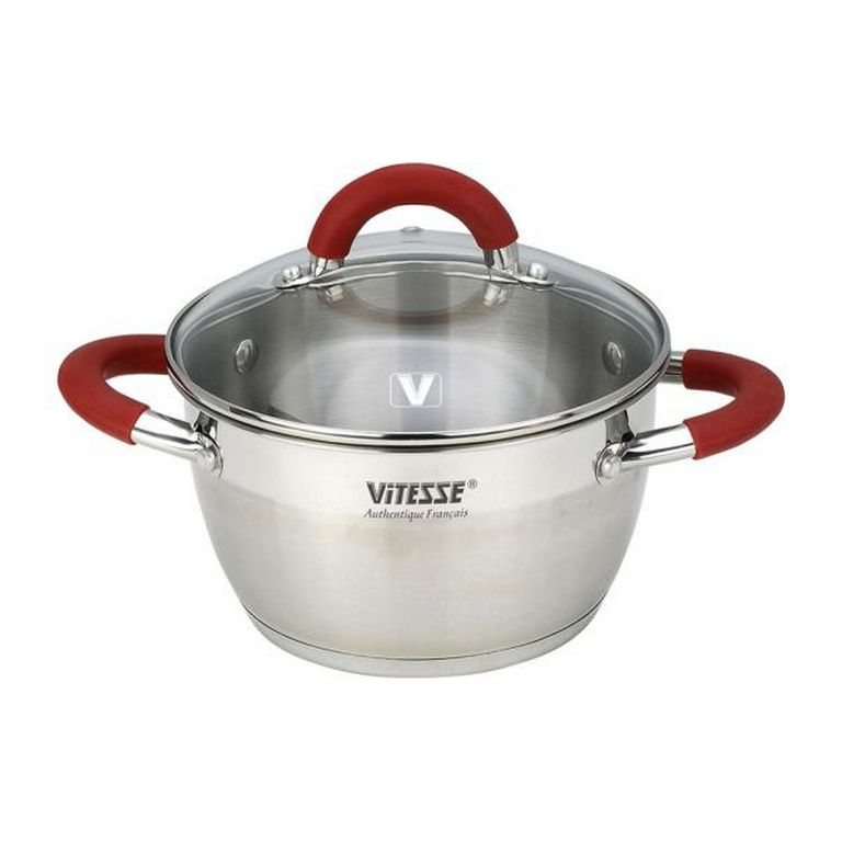 Кастрюля с крышкой Vitesse VS-2034