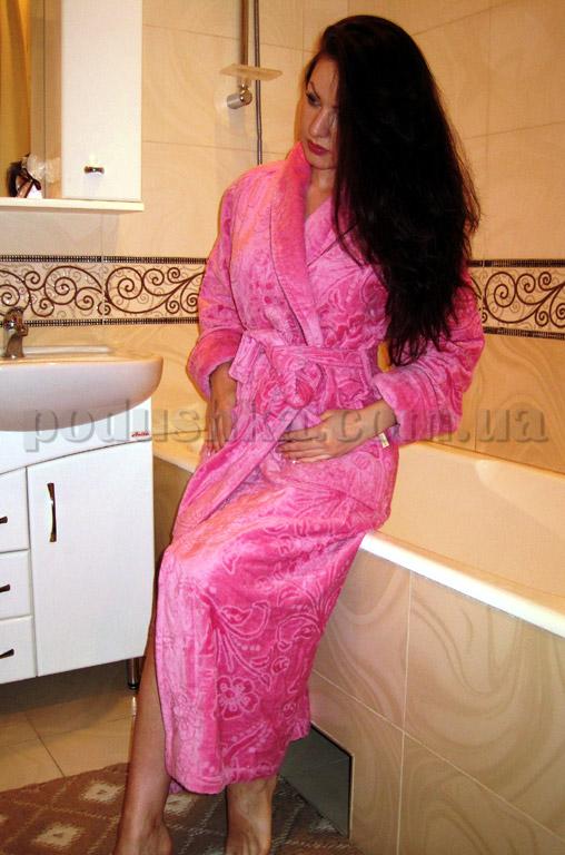 Халат женский длинный Nusa NS-3545