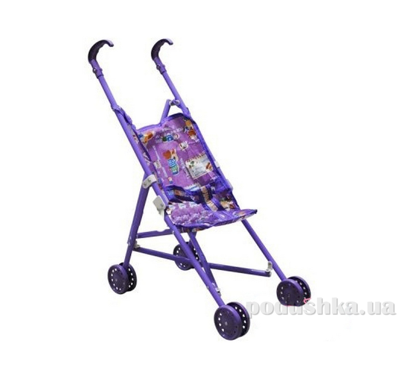 Коляска для куклы Melogo (Metr+) 0881 фиолетовый 45662
