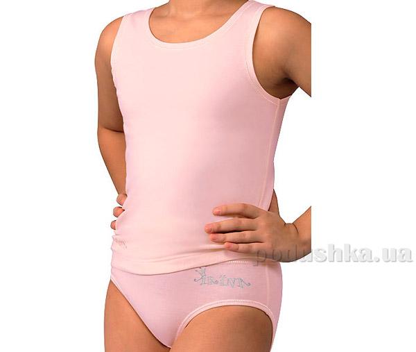 Комплект майка и трусы для девочек розовый GP/GM 0012B Arina Classica by Charmante
