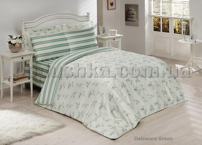 Комплект постели Le Vele Delaware green