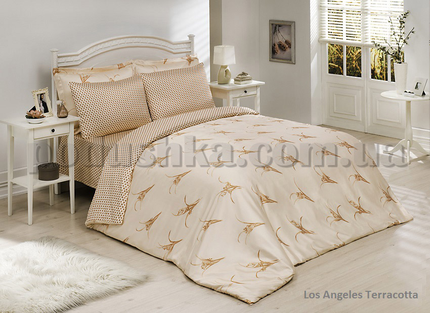 Комплект постели Le Vele Los Angeles terracota