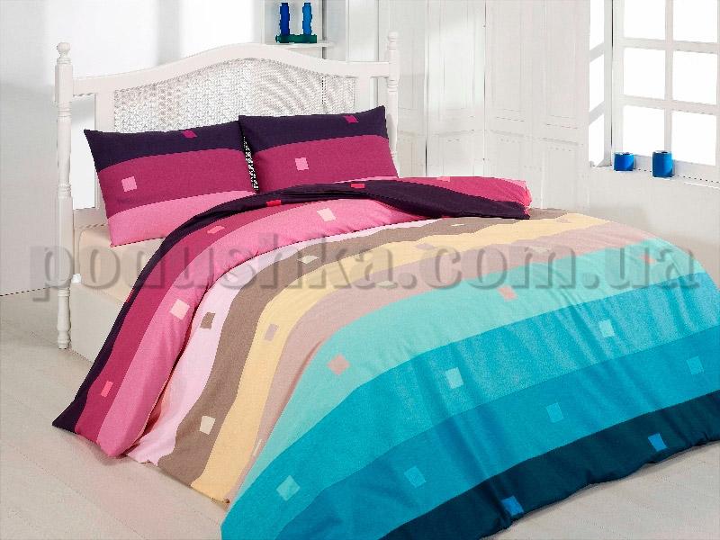 Постельное белье First choice Rainbow fusya