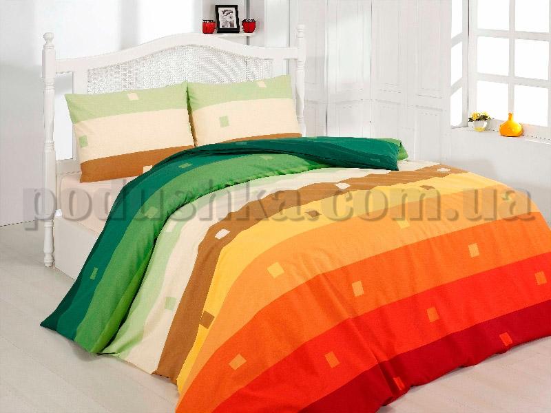 Постельное белье First choice Rainbow orange