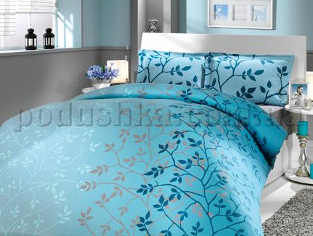 Постельное белье Hobby Casandra голубой