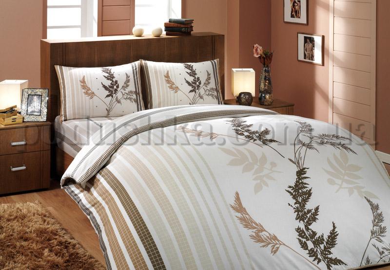 Постельное белье Hobby Christina коричневый