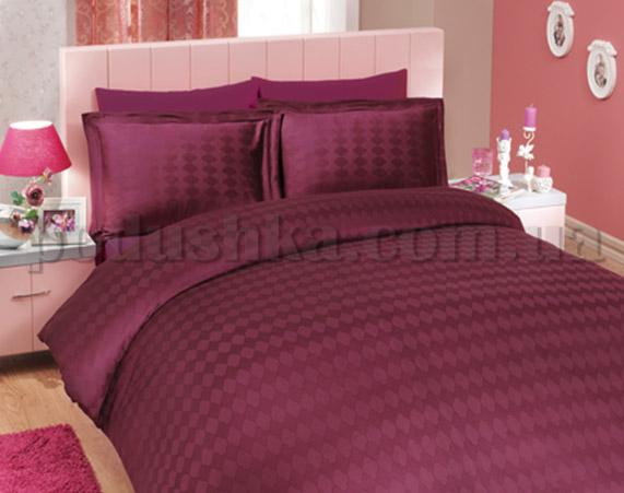 Постельное белье Hobby Exclusive Sateen Diamond Bulut фиолетовый