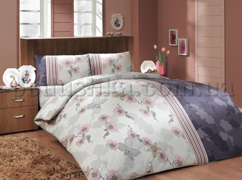 Постельное белье Hobby Ranforce Liana фиолетовый