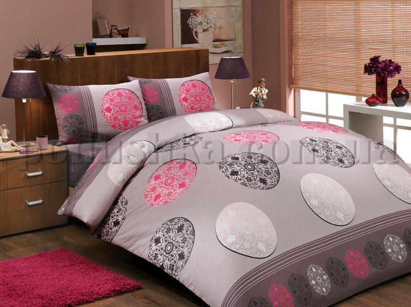 Постельное белье Hobby Valentina розовый