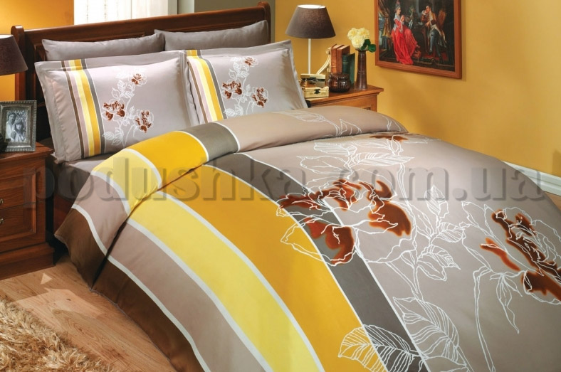 Постельное белье Hobby Vienna коричневый