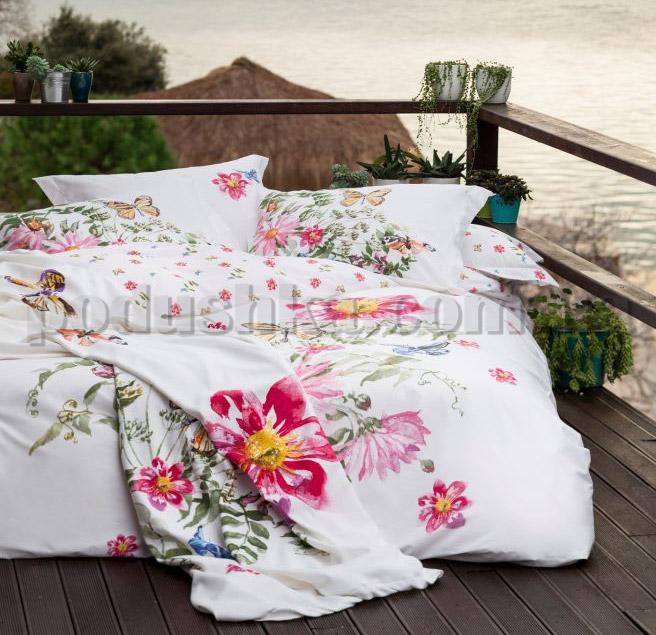 Постельное белье Karaca Brisa розовый