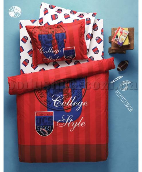 Постельное белье Karaca College красный