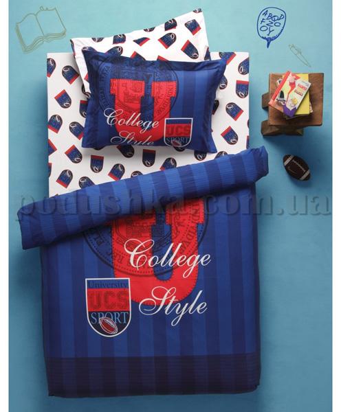 Постельное белье Karaca College синий