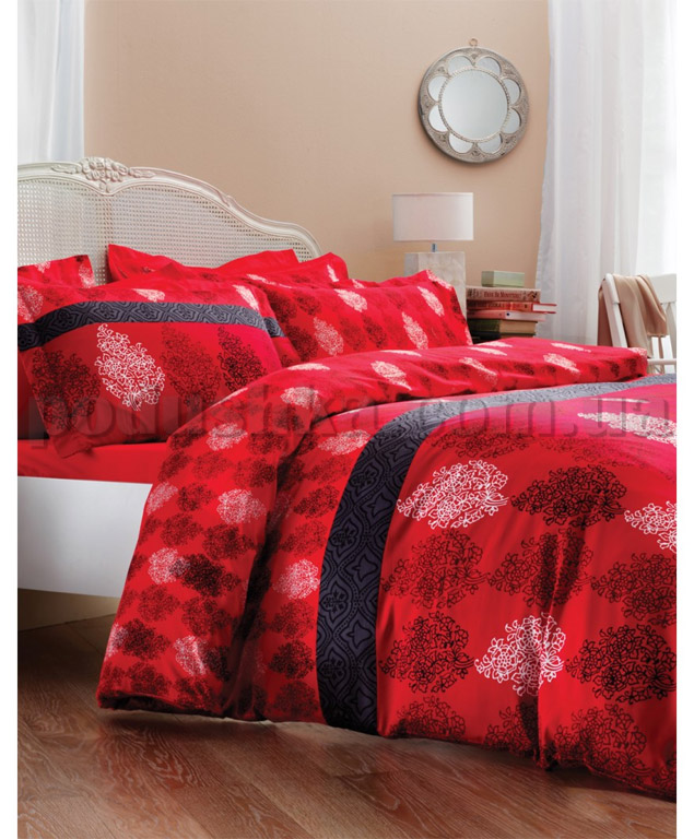 Постельное белье Karaca Dore красный