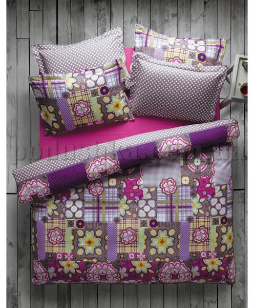 Постельное белье Karaca Dressy фиолетовый