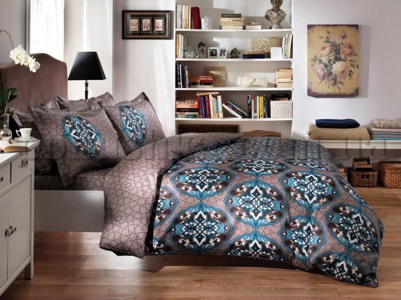 Постельное белье Karaca Frezya голубой