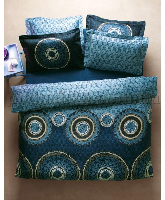 Постельное белье Karaca Hermes голубой