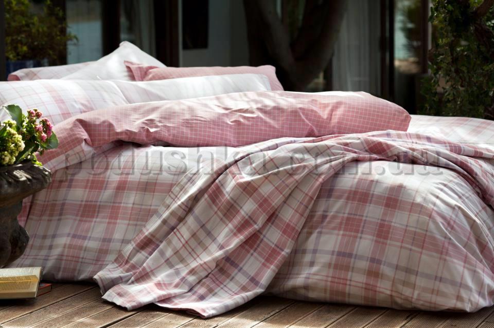 Постельное белье Karaca Plaid розовый