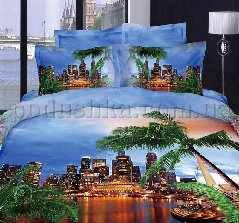 Постельное белье Love You Майами