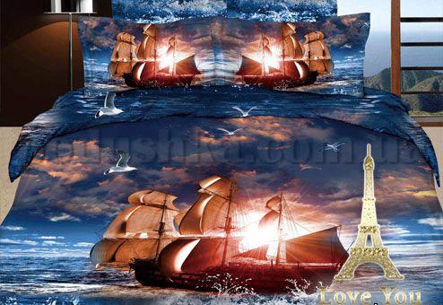 Постельное белье Love You Море