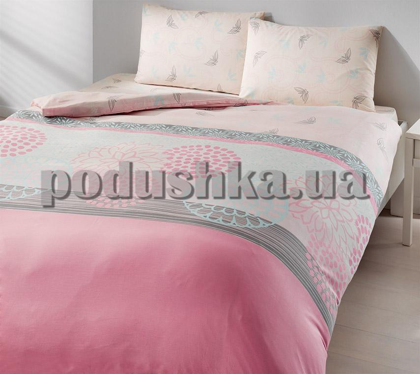 Постельное белье TAC Ranforce Everyday Emma ранфорс розовый