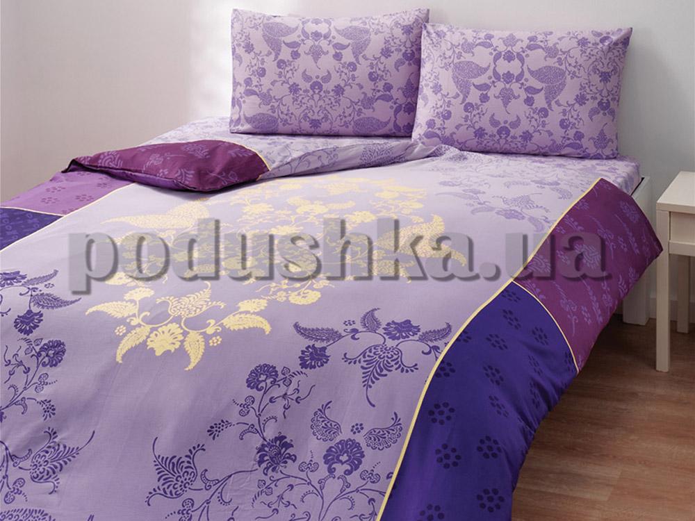 Постельное белье TAC Satin Everyday Marea фиолетовый