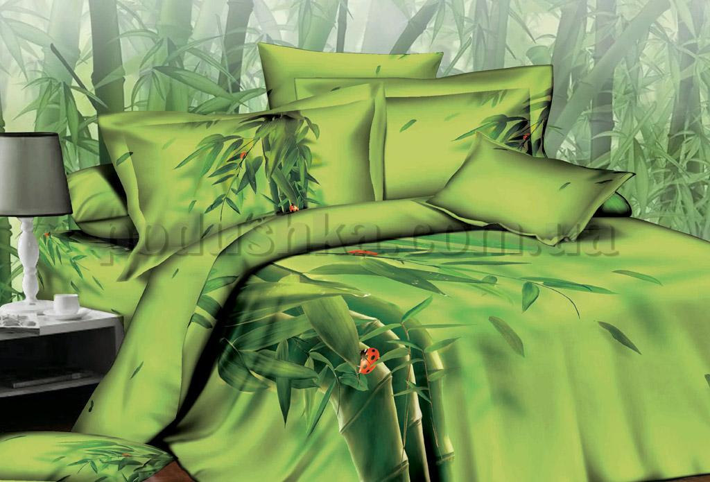 Постельное белье Word of Dream H491 Бамбук Двуспальный евро комплект  Word of Dream