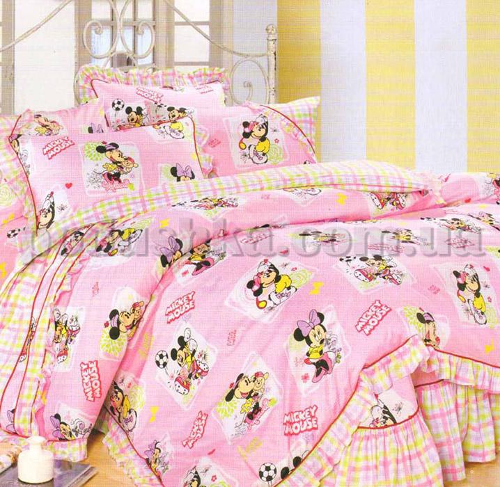 Постельное белье в детскую кроватку Love you CR-183