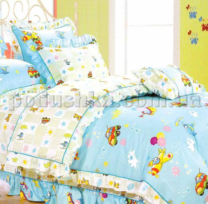 Постельное белье в детскую кроватку Love you CR-200