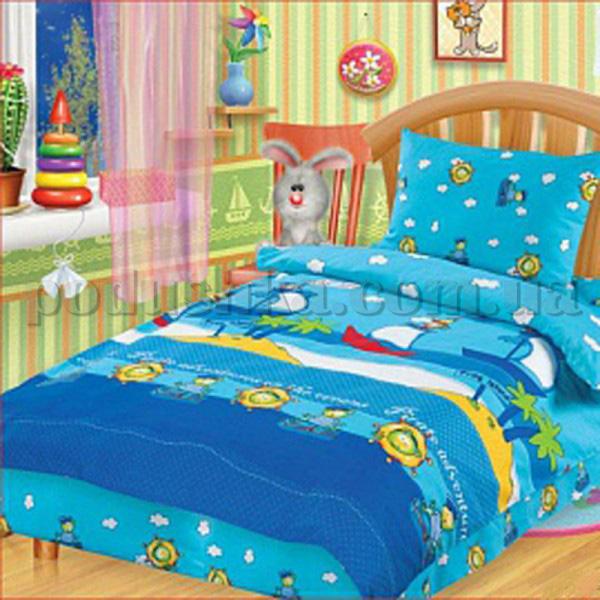 Постельное белье в кроватку На абордаж